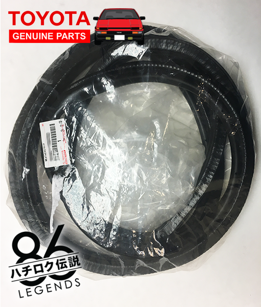 Home ... & AE86 Front Door Weather Strip (Weatherstrip) for Left/Right (Toyota ...