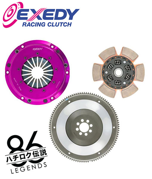 ae86 corolla exedy flywheel and race clutch