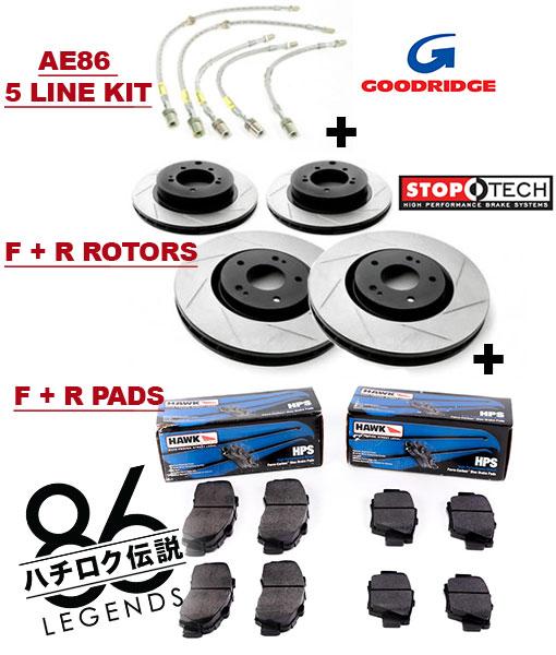 AE86 Brake Kit Corolla Track