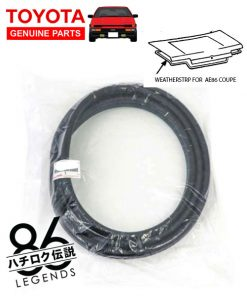 ae86 trunk coupe weatherstrip