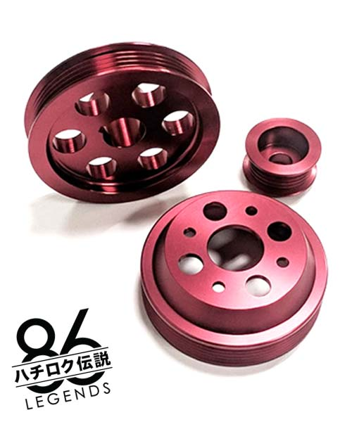 4AGE Pulley Kit for AE86 Toyota Corolla GTS