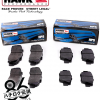 AE86 Hawk HPS brake pad kit for toyota corolla gts front and rear set